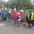 Návšteva mestskej polície